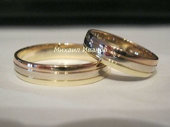 Просмотреть фотографию  Обручальные кольца на заказ! 32632681 в Новосибирске