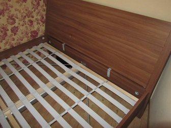 Новое фотографию Мебель для спальни ПРОДАМ КРОВАТЬ ДЕРЕВЯННУЮ ДВУХСПАЛЬНУЮ С МАТРАСОМ 32677373 в Новосибирске