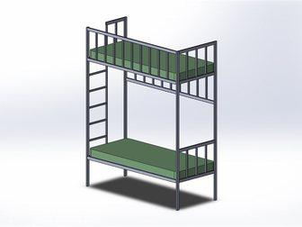 Скачать фотографию Мебель для спальни Изготовлю кровать-чердак или двухярусную кровать по вашим размерам! 32685036 в Новосибирске
