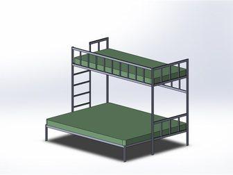 Смотреть изображение Мебель для спальни Изготовлю кровать-чердак или двухярусную кровать по вашим размерам! 32685036 в Новосибирске