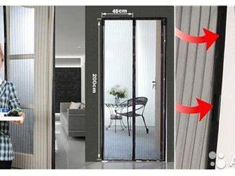 Скачать бесплатно изображение  москитная сетка на магнитах на дверь 32758021 в Новосибирске
