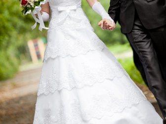 Свежее изображение  Продам шикарное свадебное платье 32835613 в Новосибирске