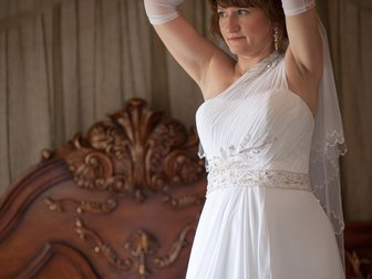 Новое фотографию Свадебные платья Свадебное платье и перчатки 33151903 в Новосибирске