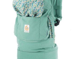 Скачать фотографию Детская мебель Эрго рюкзак (слинг рюкзак) Летний зеленый 33271230 в Новосибирске