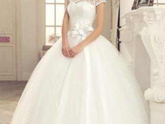Просмотреть фото Свадебные платья Красивое свадебное платье 33594285 в Новосибирске