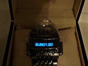 Скачать изображение  Часы DIESEL ХИЩНИК с бегущей строкой 33625614 в Новосибирске