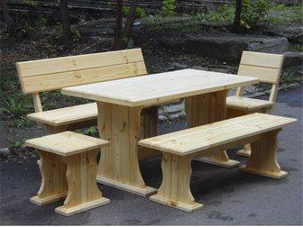 Свежее фотографию Производство мебели на заказ Столярные изделия, стол, лавка, двери 33762271 в Новосибирске