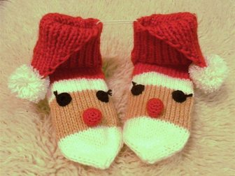 Новое фото  Носочки подарочек под ёлочку от Деда Мороза 34234534 в Новосибирске
