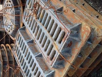 Свежее foto Строительные материалы Дождеприемник чугунный прямоугольный дм2 (С250) 34318633 в Новосибирске