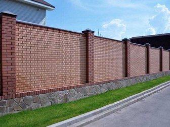 Просмотреть фото Ландшафтный дизайн Строительство заборных ограждения, устройство фундамента 34511807 в Новосибирске