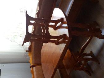Увидеть фото  Кухонный уголок: угловой диван, стол и табуретки 34804441 в Новосибирске