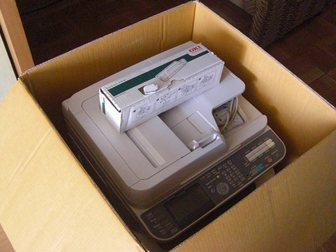 Скачать фото  продам МФУ OKI451w в отличном состоянии 34944956 в Новосибирске