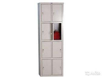 Смотреть фото Офисная мебель Шкаф для раздевалок локер практик LS LE -24 35015724 в Новосибирске