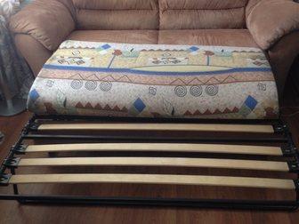 Уникальное фотографию  Набор мягкой мебели, Диван раскладной и два кресла 35392751 в Новосибирске