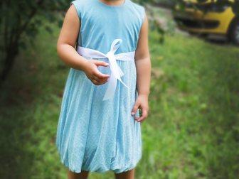 Свежее изображение Детская одежда Нежное платье в голубых тонах для девочки от 3-х до 5-х лет! 35489711 в Новосибирске