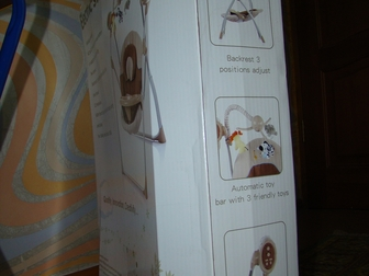Свежее изображение Товары для новорожденных Кресло-качалка Electric swing BT-SC-001 35848441 в Новосибирске