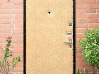 Смотреть фотографию Двери, окна, балконы Обивка входных дверей дермантином (винилискожей) 36235764 в Новосибирске