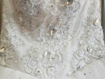 Уникальное фотографию Свадебные платья Свадебное платье в отличном состоянии 37787316 в Новосибирске