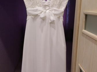 Увидеть изображение  Продам свадебное платье 39195260 в Новосибирске