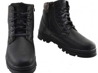 Свежее foto Мужская обувь Продам мужские зимние ботики треккинговые 67787279 в Новосибирске