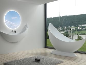 Смотреть фотографию Мебель для ванной Оптовые поставки ванн и раковин из искусственного камня 68926291 в Новосибирске