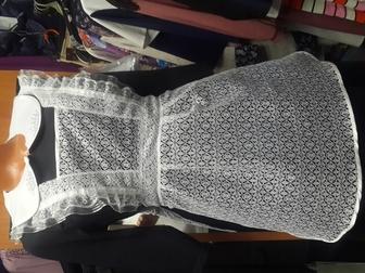 Скачать фотографию Женская одежда Школьные фартуки белые черные цветные школьные фартуки 69573761 в Новосибирске