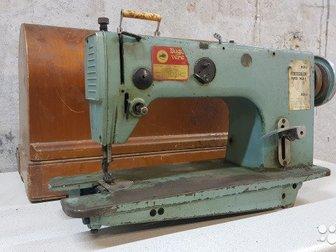 Промышленную швейную машину 1022м и швейная машина Подольск, ПМЗ им, Калинина со станиной и футляром, , в Новосибирске