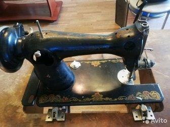 Швейная машина зингер состояние смотрите по фото, в Новосибирске