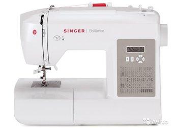 Продам швейную машину Singer Brilliance 6180 с электронным управлением,  Машинка на гарантии,  Прошивает все типы тканей на скорости до 750 ст/мин,  Singer Brilliance в Новосибирске