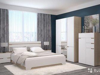 Спальня Анталия НовинкаСпальня, готовый набор,  Кровать поставляется без основания, заказывается отдельной опцией, РазмерКровать (ШхВхГ)1674 х 900 х 2058 мм, в Новосибирске