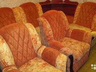 Диван -кровать угловой (левый/правый)   два креслаКомплектУгол переставляется (меняется местами)Два кресла !Произведена проф,  химчистка 15, 12, 2019 : моющий пылесос в Новосибирске