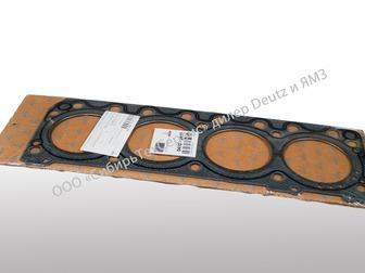 Смотреть изображение Автозапчасти Прокладка головки блока, Deutz 4103940 74449805 в Новосибирске