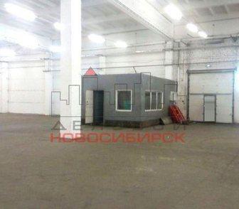 Изображение в Недвижимость Коммерческая недвижимость Предлагается в аренду отапливаемое складское в Новосибирске 275
