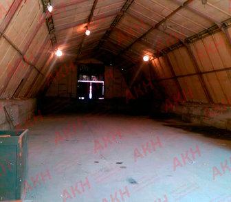 Фото в Недвижимость Аренда нежилых помещений Неотапливаемое складское здание арочного в Новосибирске 56000