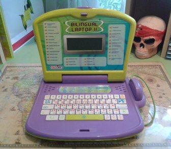 Фотография в Для детей Детские игрушки Продам детский обучающий компьютер 2 языка-рус. в Новосибирске 1000