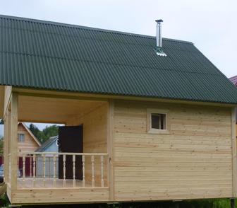 Фото в   строим бани, дачные домики, веранды, беседки, в Новосибирске 30000