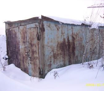 Изображение в Недвижимость Гаражи, стоянки Бу Гараж металлический утепленный, размеры: в Новосибирске 25000