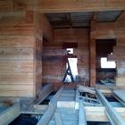 Продам сруб на фундаменте под крышей