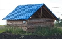Продам недостроенный дом в поселке Омский