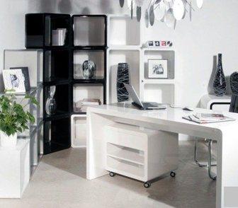 Фото в Мебель и интерьер Производство мебели на заказ Артикул Оф-012  В комплект входят: стол офисный в Омске 45000