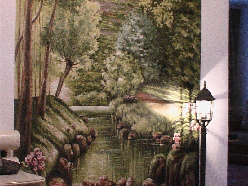 Роспись стен цена в омске