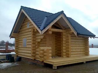 Увидеть foto Строительство домов Строим бани, сауны, срубы 36042240 в Москве