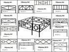Изображение в Строительство и ремонт Строительные материалы Оградки ритуальные. Металлические, черные, в Орле 840