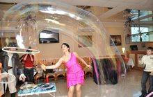 Шоу мыльных пузырей в Орле