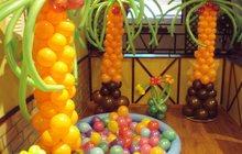 Гелиевые шары в Орле, Праздничное оформление