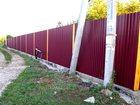 Просмотреть фотографию Другие строительные услуги Установка забора из профлиста 32976251 в Оренбурге