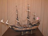 продам модель парусника модель парусного корабля из дерева в масштабе 1:50 разме