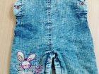 Фото в   Продам джинсовый комбез для девчушки. ращмер в Озерске 200