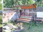 Изображение в Строительство и ремонт Строительные материалы Садовые, разборные качели  Выполнены из профильной в Ожерелье 6300