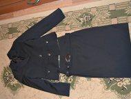 школьный костюм школьный костюм в белую полоску, одела 3 раза, рост 152, новый